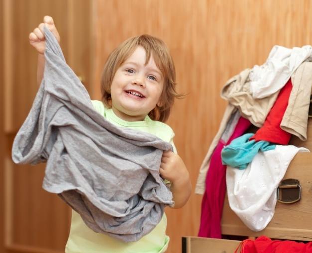 איך ללמד ילדים להתלבש לבד?
